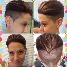 short bob hairstyles 360 degrees 360 view of my shaved pixie undercut finally getting to the