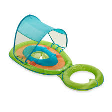 Swimways Baby Spring Float Sun Canopy Blue by Trendbrew Product Details