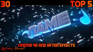 top 5 cinema 4d and after effects intro templates free download