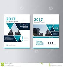 cover layout com triangle vector annual report leaflet brochure flyer template design