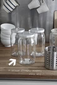 tiny cottage kitchens shelves storage jars u0026 ikea life by the