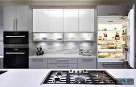 clean seamless and serene modern high gloss kitchen design