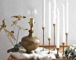 moroccan table lamp etsy