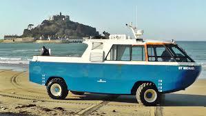 amphibious truck st michael u0027s mount cornwall amphibious vehicle car craft