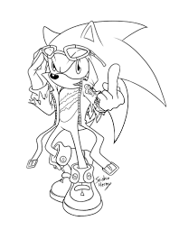scourge hedgehog coloring pages omeletta