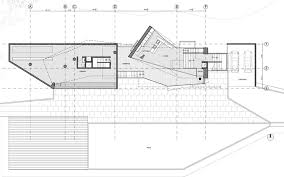 Lakeside Floor Plan Lakeside Home Has Faceted Windows On Cantilevered Volumes