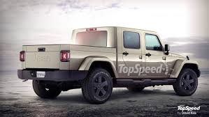 jeep truck 2018 jeep pickup truck review competition engine price and photos