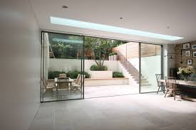 external glass walls modern patio doors bi fold doors vs sliding