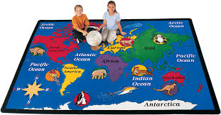 Outer Space Rug Map Carpets