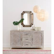 Home Depot Decorators Collection Home Decorators Collection Chennai 3 Drawer Whitewash Dresser