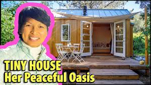 Tiny by Female Designer Creates The Most Zen Tiny House Ever Youtube