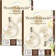 scentsationals 25w light bulbs 2pk walmart com