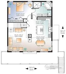a frame floor plans house plan w3938 v1 detail from drummondhouseplans