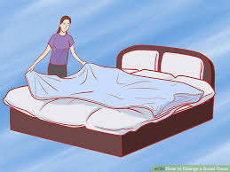 how to change a duvet cover 11 steps with pictures wikihow