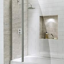technik fixed panel sail bath screen bathrooms at bathshop321 technik 6 fixed panel sail bath screen
