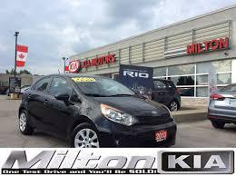 economy kia rio used 2013 kia rio black for sale stock 872061 in milton on