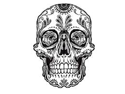 awesome skull designs from up hanslodge cliparts