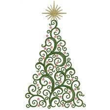 creative tree design made with dots greeting