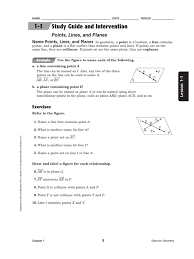 chapter 1 studyguides 1 angle area