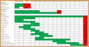 Schedule Template In Excel Schedule Template Excel Production Schedule Png Scope Of Work