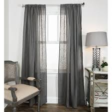 Grey Sheer Curtains Rugs Curtains Charcoal Gray Sheer Curtains With Chrome Curtain
