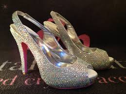 Wedding Shoes Online Uk Crystal Wedding Shoes Wedding Dress From Crystal Couture Hitched