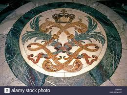 Mosaic Floor L L Initial L Initial Marble Floor Mosaic Floor