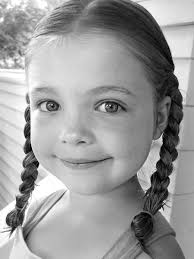 hair cute for 6 year old girls free 6 year old girl with braids stock photo freeimages com