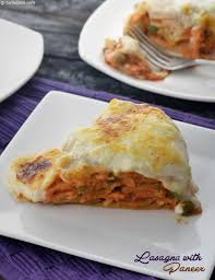 cuisine lasagne veg lasagne with paneer recipe indian vegetarian recipes by