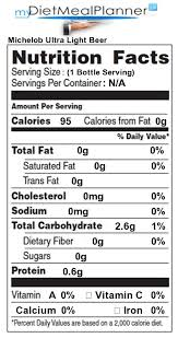 how many calories in michelob ultra light beer carbs in michelob ultra light beer www lightneasy net