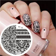 Nail Art Lace Design Best 25 Stamping Nail Art Ideas On Pinterest Nail Stamping