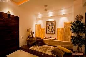 pooja room in living room living room design ideas