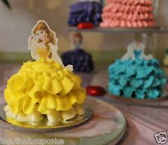up cake topper disney princess half edible wafer cupcake cake toppers