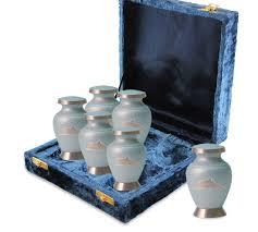 cremation urns dolphin brass keepsake cremation urns 6 pack
