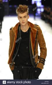 male models with long straight hair dihomme menswear paris ready to wear model straight blonde hair