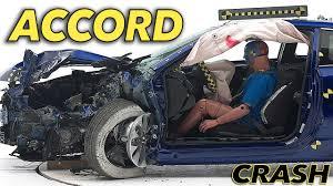 lexus ct200h vs honda accord 2015 honda accord 2 door coupe crash test iihs small overlap good