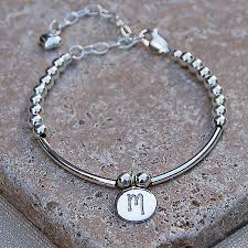 girls bracelet silver images Personalised girls silver and pearl bracelet by indivijewels jpg