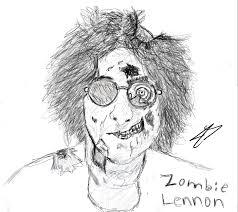 zombie john lennon sketch by trnal on deviantart