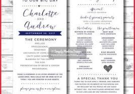 unique wedding program templates free downloadable wedding program template that can be printed