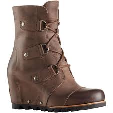 womens boots in the uk sorel s joan of arctic wedge mid boot at moosejaw com