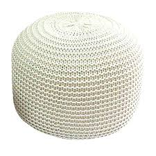 knitted pouf ottoman target knitted poufs ottoman knit pouf ottoman target knitted pattern free