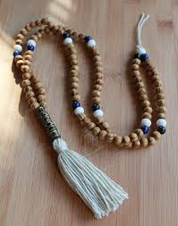 long wood bead necklace images Necklace mala yoga tassel necklace wooden bead necklace meditation jpg