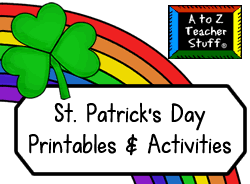 st patrick u0027s day unit activities printables lessons and