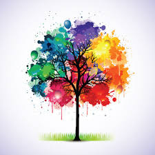 vector color tree free eps free vector 180 863 free