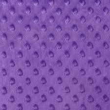 purple minky dot fabric onlinefabricstore net