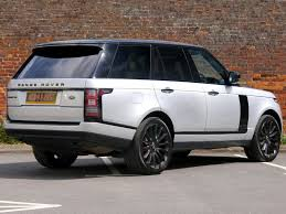 silver range rover land rover range rover vogue se black pack 22 u0027 u0027 alloys