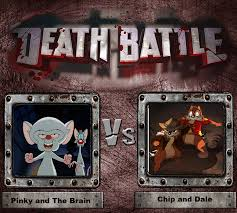 pinky and the brain pinky and the brain vs chip and dale death battle fanon wiki