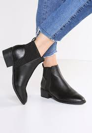 ankle boots uk look look darren ankle boots black zalando co uk
