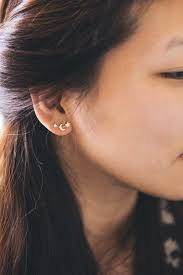 unique gold stud earrings 533 best fashion images on feminine fashion casual