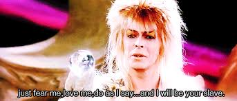 David Bowie Labyrinth Meme - david bowie labyrinth gif find share on giphy